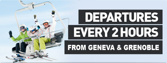 Departures Every 2 Hours From Chambery & Geneva